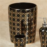 Beauty Wastebasket Black