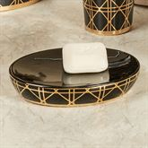 Beauty Soap Dish Black