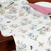 Butterfly Meadow Quilted Placemat Set  Set of Four