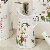 Botanical Diary Lotion Soap Dispenser Off White