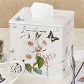 Botanical Diary Tissue Cover Off White