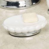 Sleek Soap Dish Off White