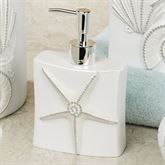 Seaview Lotion Soap Dispenser Ivory