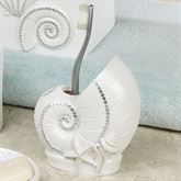 Seaview Brush Holder Ivory