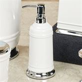 Isabella Lotion Soap Dispenser Off White