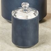 Grant Covered Jar Indigo