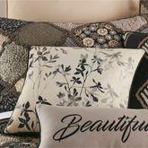 Lexington Botanical Pillow Multi Warm 18 Square