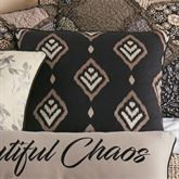 Lexington Embroidered Pillow Multi Warm 18 Square