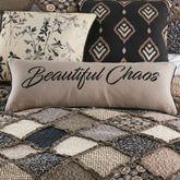 Lexington Embroidered Jumbo Pillow Multi Warm Rectangle
