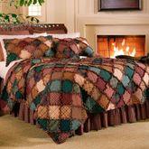 Campfire Patchwork Quilt Multi Warm