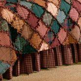 Campfire Gathered Bedskirt Multi Warm