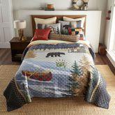 Sunset Cottage Mini Quilt Set Multi Warm