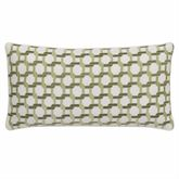 Madura Embroidered Rectangle Pillow Ivory