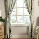 Madura Wide Tailored Curtain Pair Gray 100 x 84