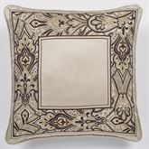 Landon Piped Pillow Gold Beige 18 Square