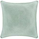 Emery Piped Quilted Pillow Seafoam 18 Square