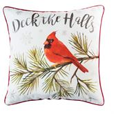 Averie Cardinal Pillow Red 18 Square