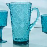 Acrylic Beverage Pitcher Aqua