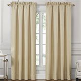 Wynne Wide Tailored Curtain Pair Gold 100 x 84
