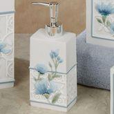 Garden View Lotion Soap Dispenser Blue