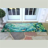 Peaceful Pond Rectangle Mat Seafoam 59 x 23