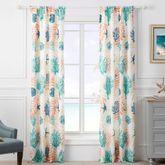 Montego Tailored Curtain Pair Multi Cool 84 x 84
