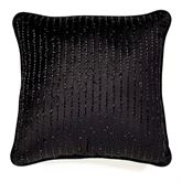 Fenmore Tailored Pillow Black 17 Square