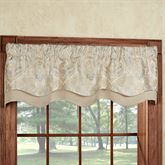 Hollyhock Champagne Townsend Valance 52 x 16