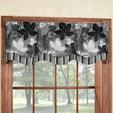 Maple Leaf Platinum Gray Townsend Valance 52 x 16