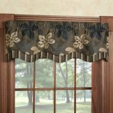 Maple Leaf Sable Brown Townsend Valance 52 x 16