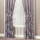 Ambience Tailored Curtain Pair Wisteria