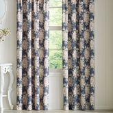 Braylee Tailored Curtain Pair Cobalt 82 x 84