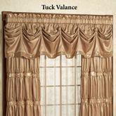 Splendor Tuck Valance Gold 90 x 20