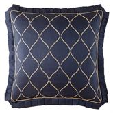 Vaughn Embroidered Sham Navy European