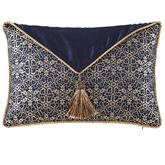 Vaughn Envelope Pillow Navy Rectangle