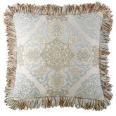 Jonet Fringed Pillow Ivory 18 Square