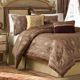 Faberge Comforter Set Rosewood