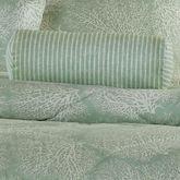 Antigua Striped Tailored Pillow Aqua Mist Neckroll