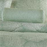 Antigua Striped Tailored Pillow Aqua Mist Neckroll