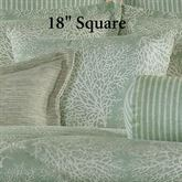 Antigua Tailored Pillow Aqua Mist 18 Square