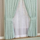 Antigua Wide Curtain Pair Aqua Mist 100 x 84