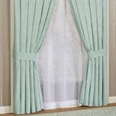 Antigua Wide Curtain Pair Aqua Mist 100 x 84