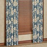 Copenhagen Wide Curtain Pair Dark Blue 100 x 84