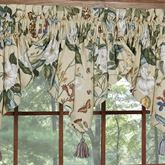 Garden Images III Ascot Valance Parchment 52 x 20