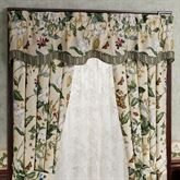 Garden Images III Fairfield Valance Parchment 78 x 14