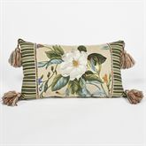 Garden Images III Tasseled Rectangle Pillow Parchment