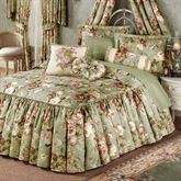 Summerfield Flounce Bedspread Misty Jade