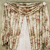 Springfield Scarf Valance Light Cream 44 x 144