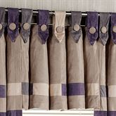 Impulse Tab Top Valance Sand 42 x 18