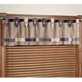 Impulse Wide Tab Top Valance Sand 72 x 18